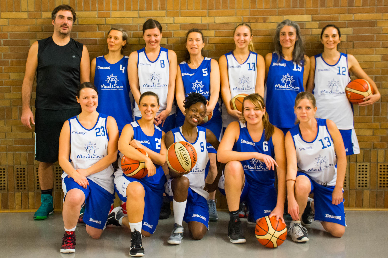 Basketball Mannschaft Damen III