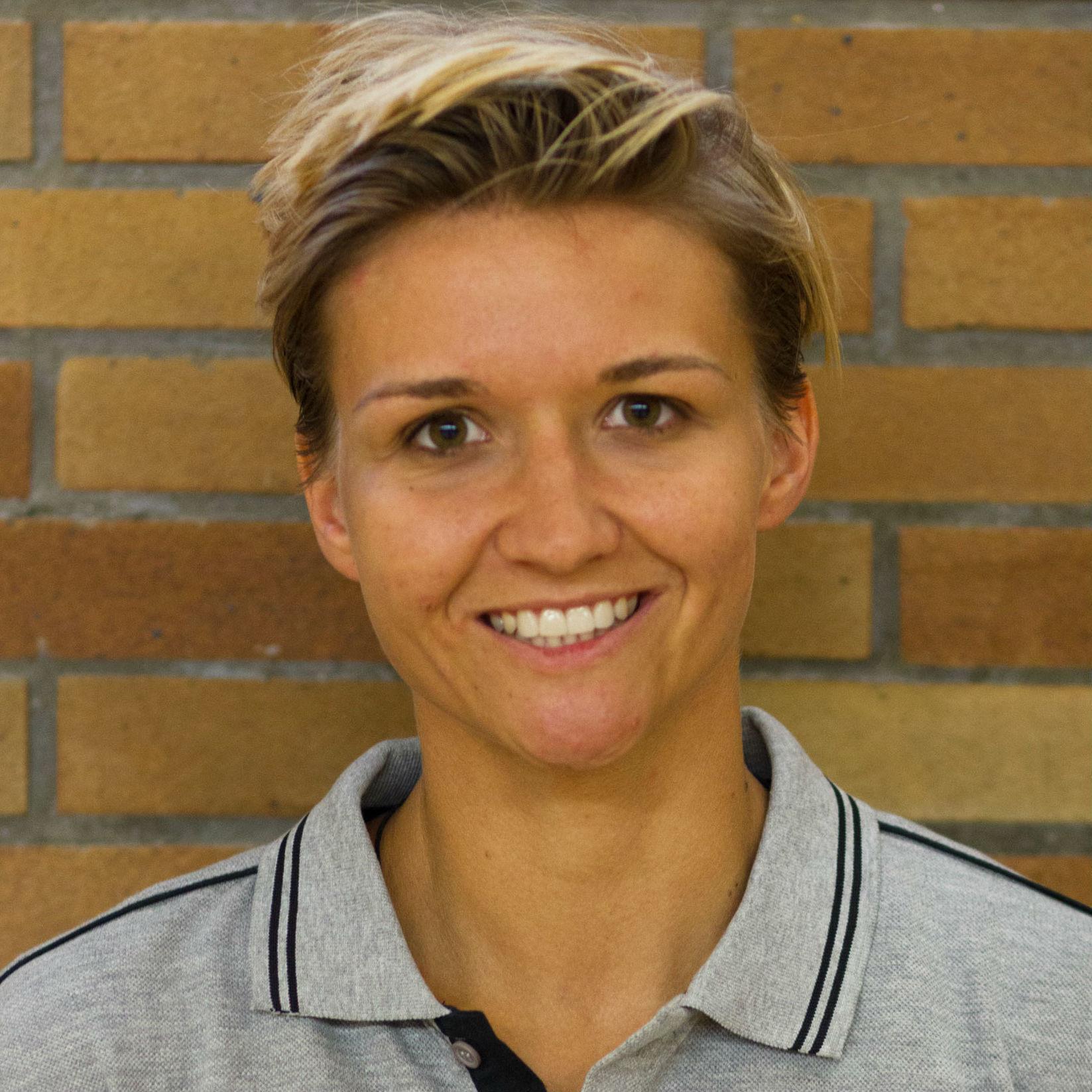 Vanessa Klinger hilft im Mädchenteam U12 aus