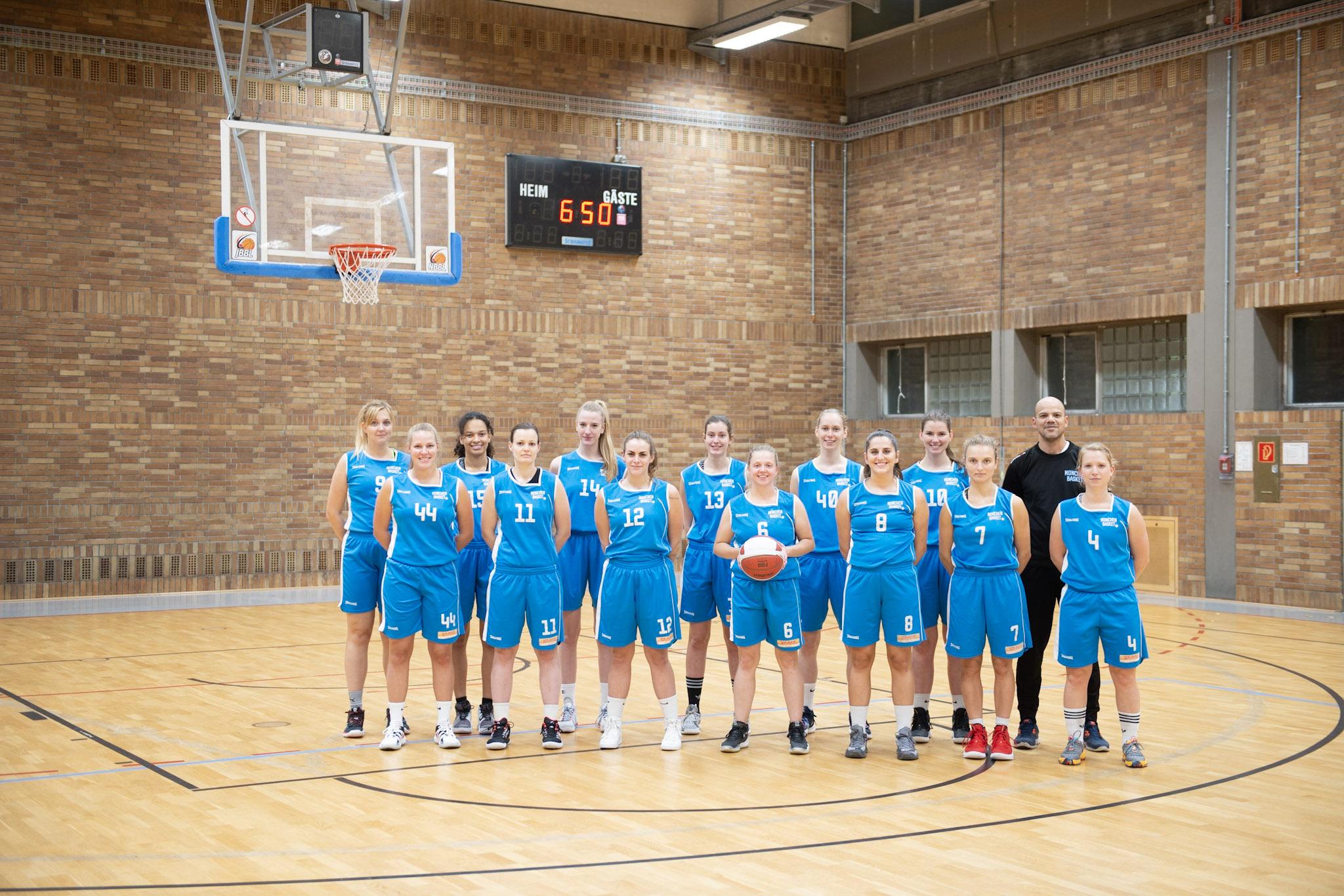 Weibliche Bayernligamannschaft: Damen I